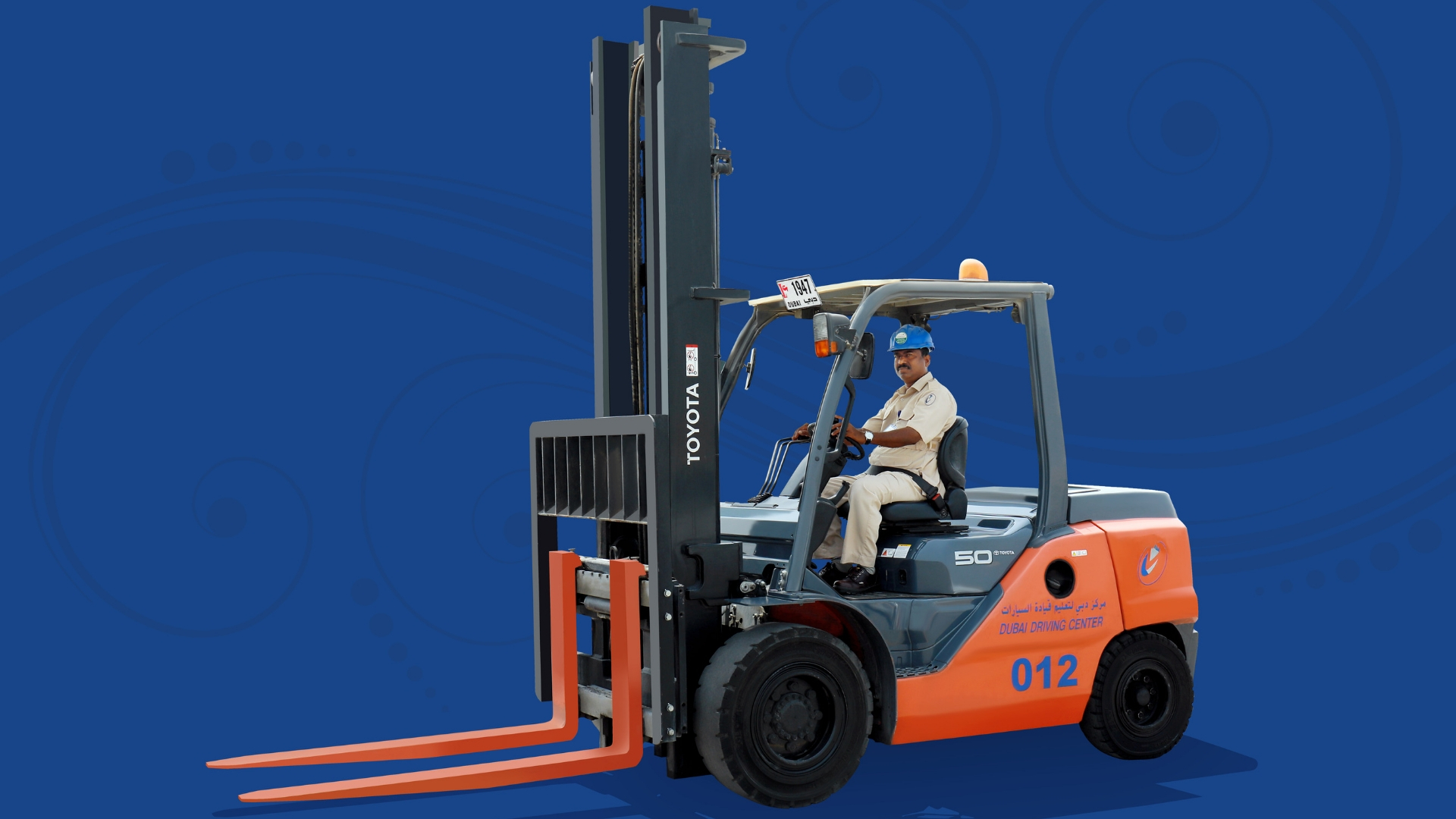 Light Heavy Forklift